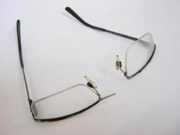 Glasses repaired and restored : $127