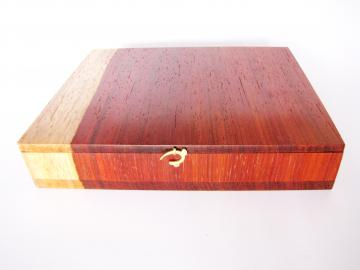 Padauk Wood Jewellery Box : $507